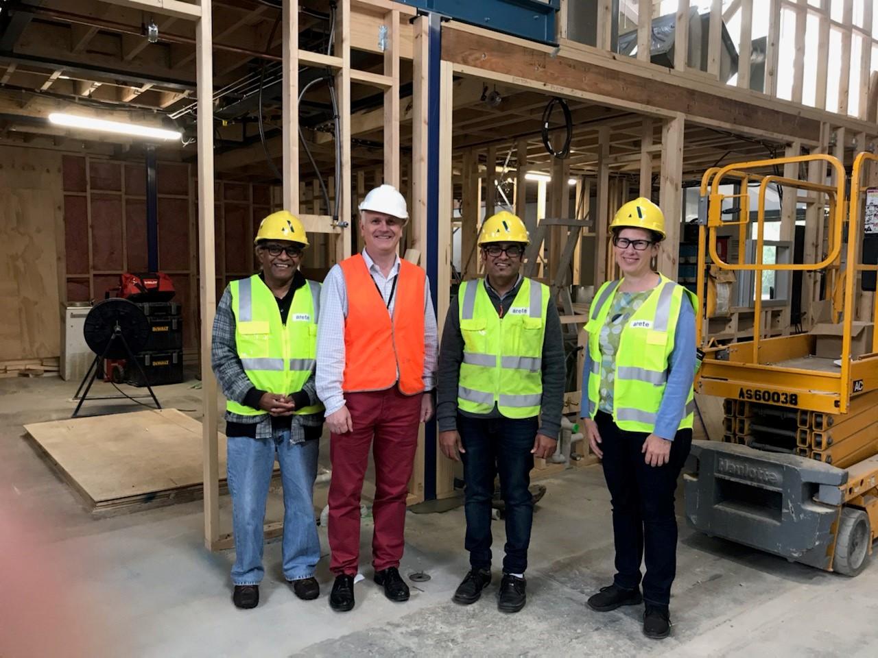 Pilot plant facility –  good progress with construction